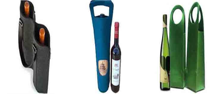 Felt Red Wine Bag 5
