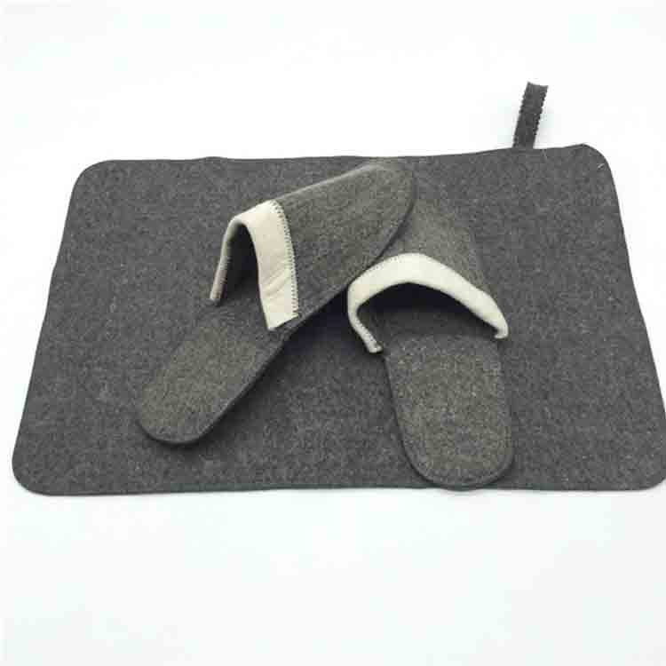 Felt Sauna Slipper