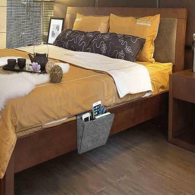 Felt bedside caddy 3