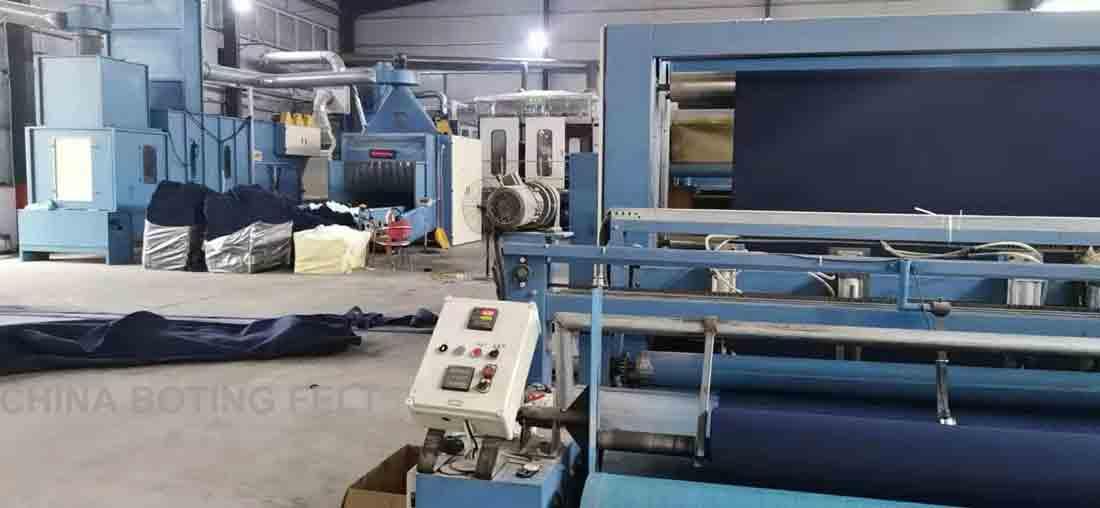 Oficina de produção de perfurador de agulha