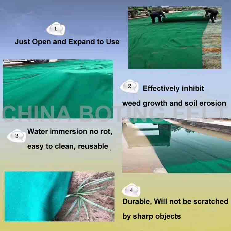 Non Woven Geotextiles Use