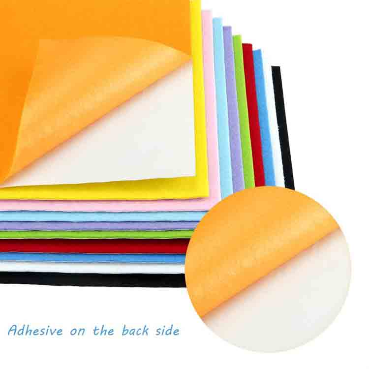 adhesive backed felt sheets