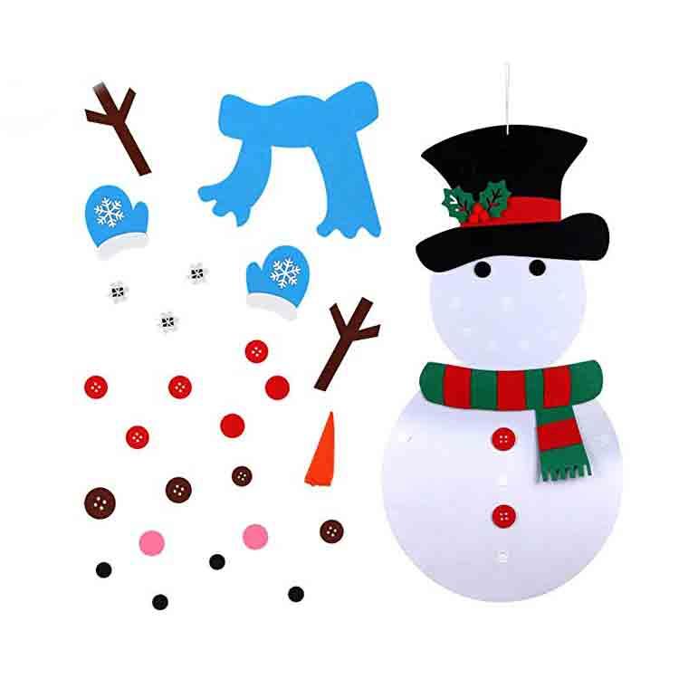 christmas felt crafts 2