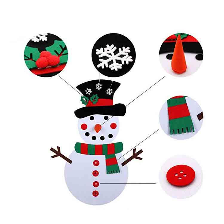 christmas felt crafts 3