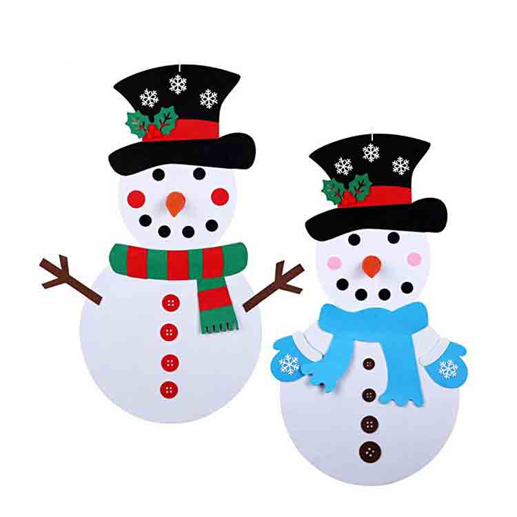 christmas felt crafts 4