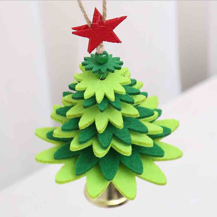 diy felt christmas tree 1
