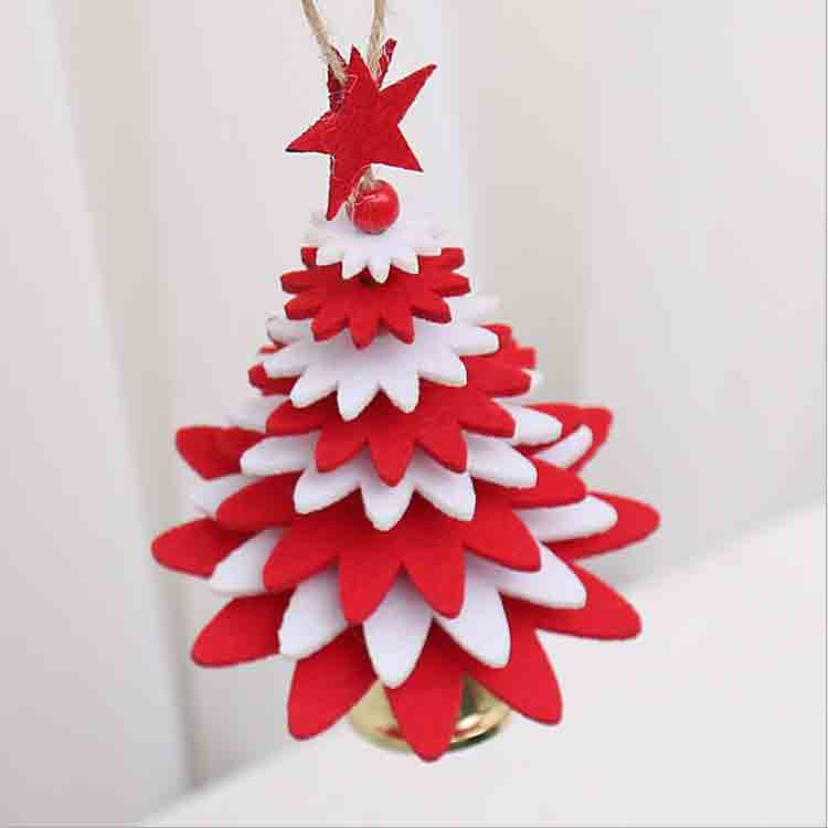 diy felt christmas tree 2