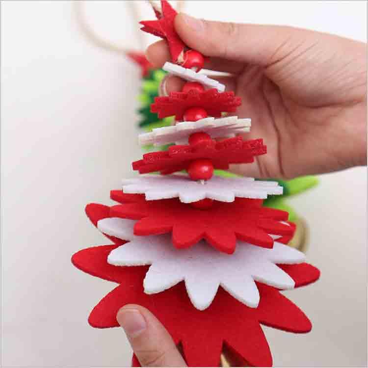 diy felt christmas tree 3