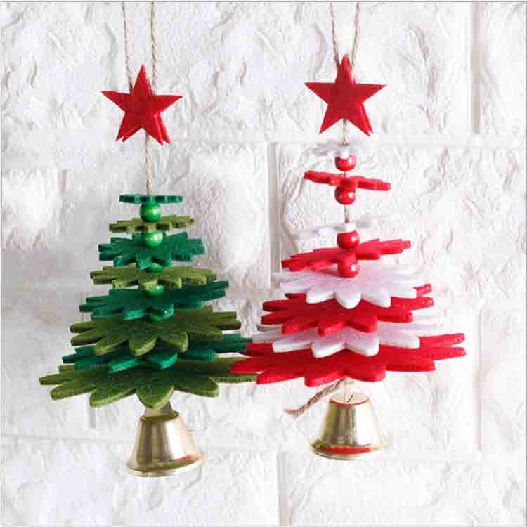 diy felt christmas tree 5