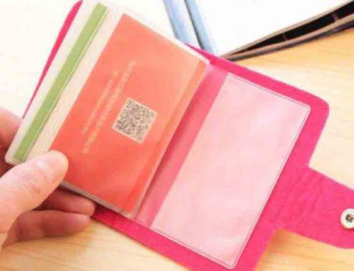 felt card pouch