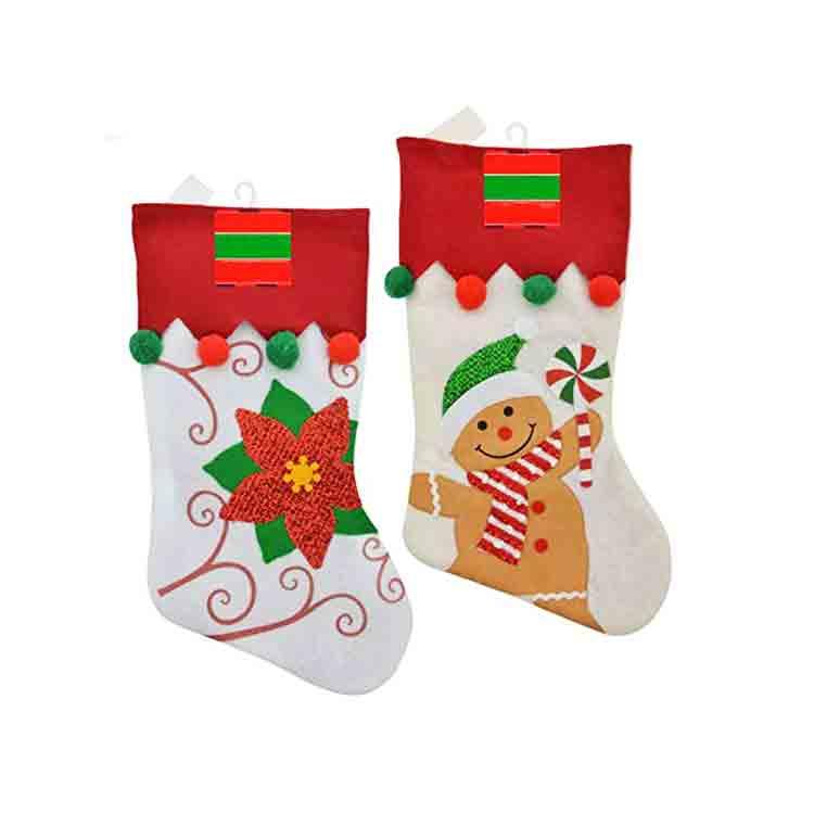 felt christmas stocking pattern 2