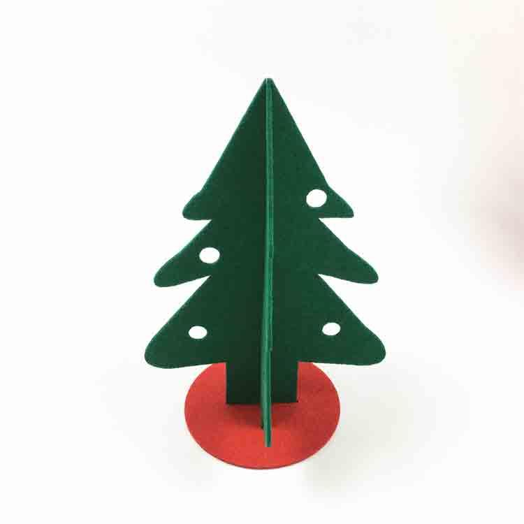 felt christmas tree decorations 1