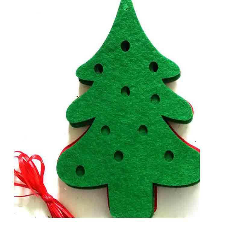 felt christmas tree decorations 2