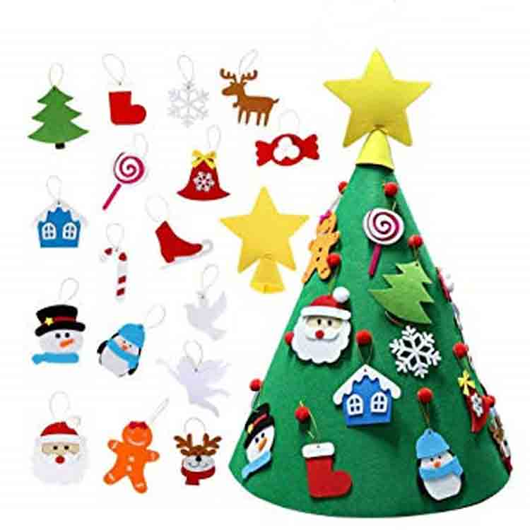 felt christmas tree kit 1