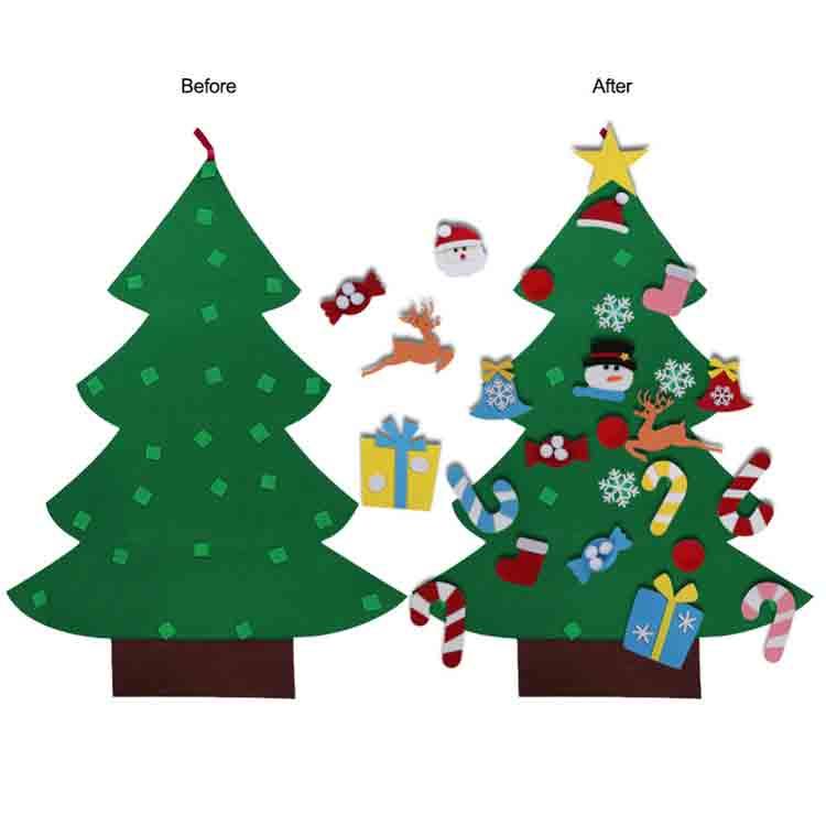 felt christmas tree kit 2