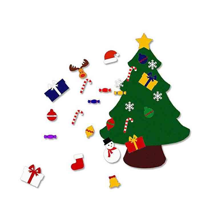 felt christmas tree kit 4