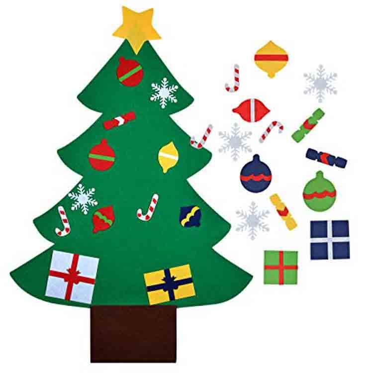 felt christmas tree kit 5