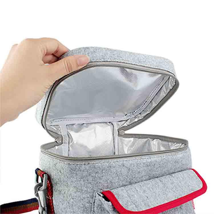 öğle yemeği çantası 2 hissettim