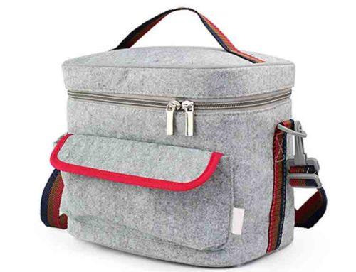 felt lunch bag