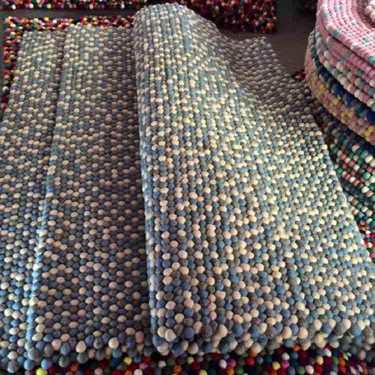 felt stone rug 3