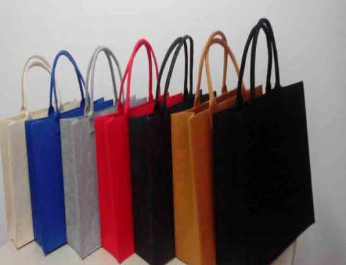 felt tote bags
