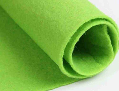 green felt cloth