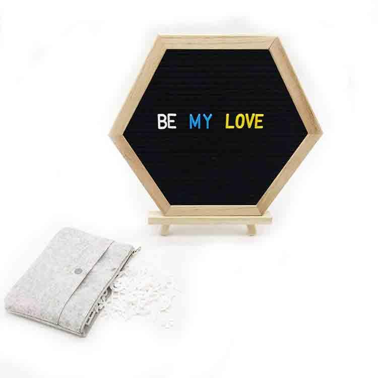 hexagon letter board 2