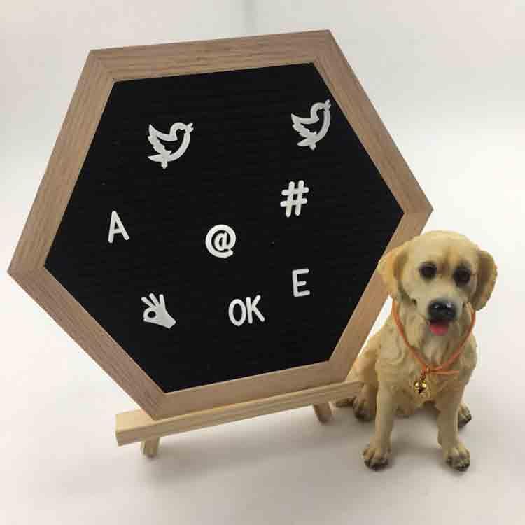 hexagon letter board 3