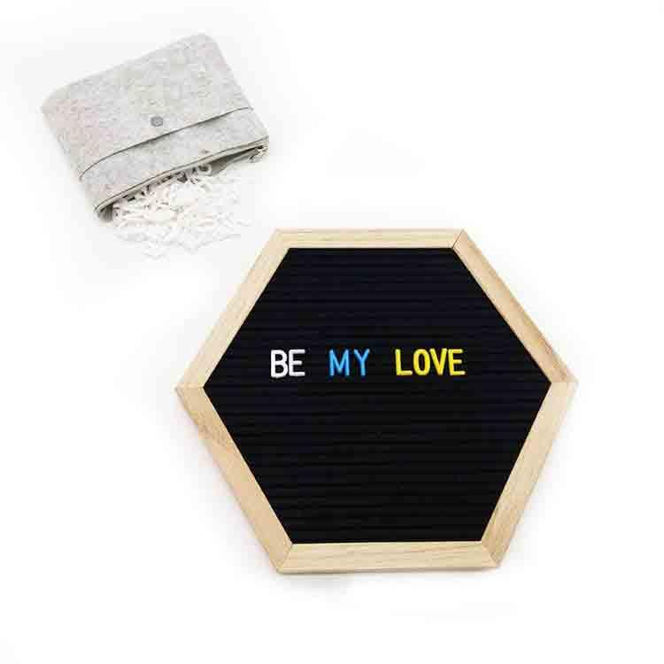 hexagon letter board 5
