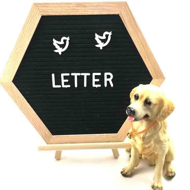 hexagon letter board 6