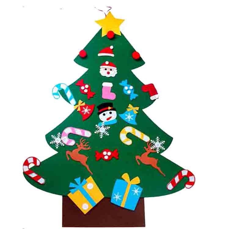 kids felt christmas tree 4