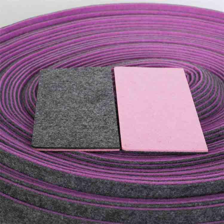 mixed colors polyester felt 3