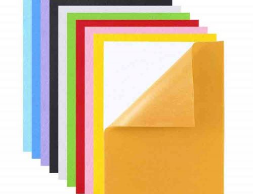 self adhesive felt sheets