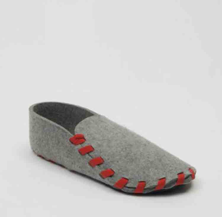 wool felt shoes 1
