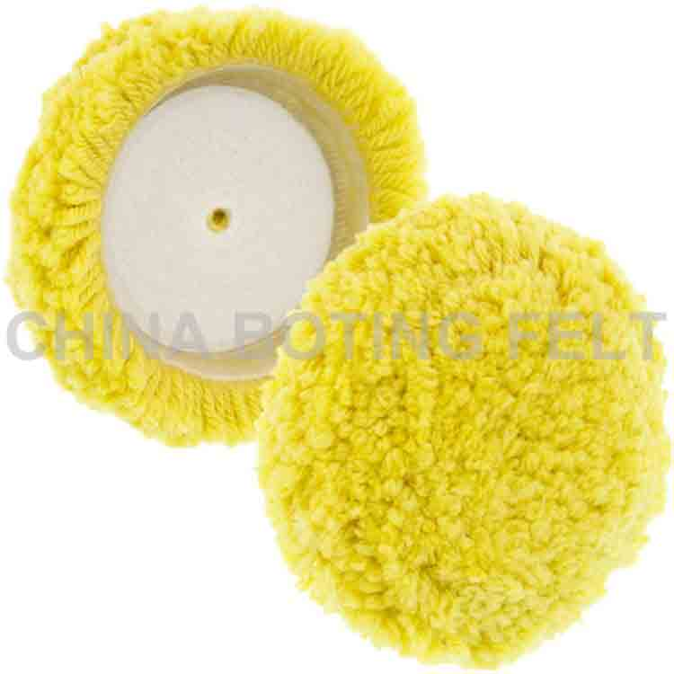 7 inch wool buffing pad 2