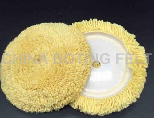 7 inch wool buffing pad