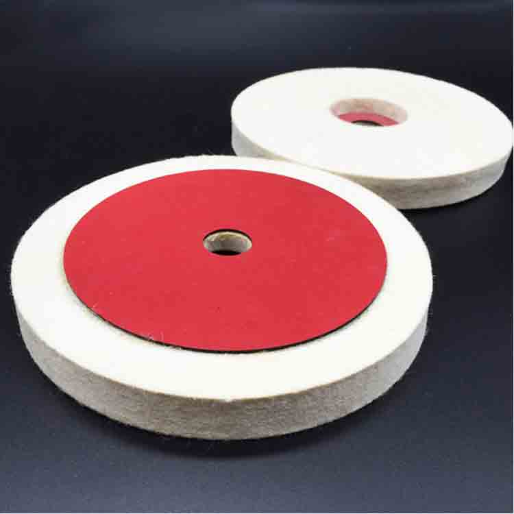 Felt Wheels With Vulcanized Fiber