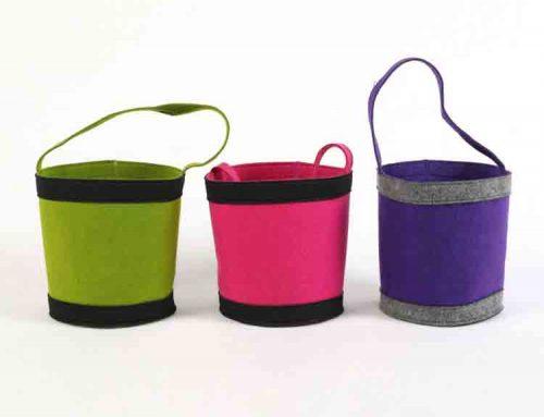 felt bucket