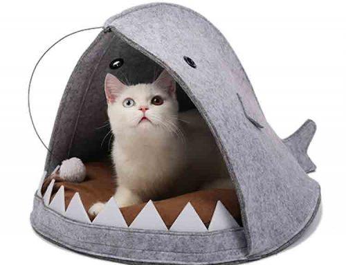 felt cat house