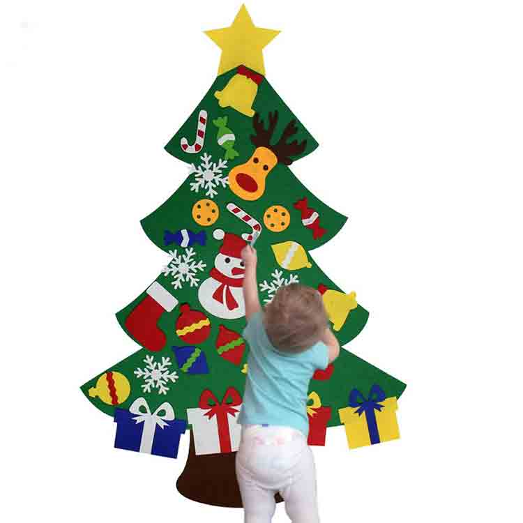 felt christmas tree ornaments 2