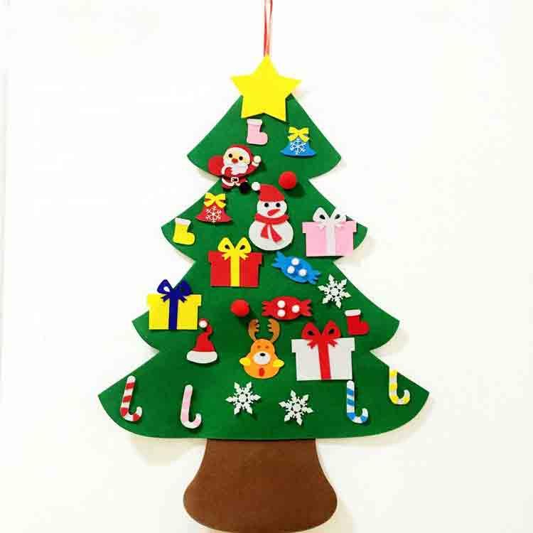 felt christmas tree ornaments 3
