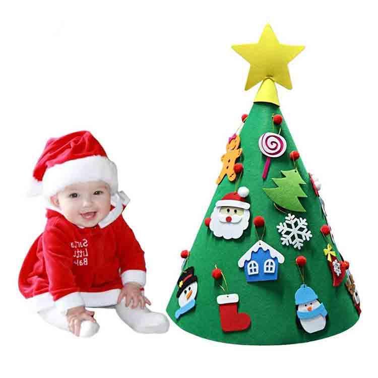 felt christmas tree ornaments 4