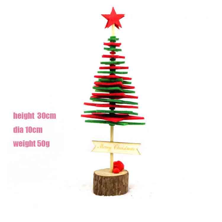 felt christmas tree pattern 1