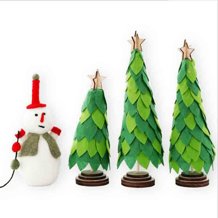 Noel ağacı desen hissettim