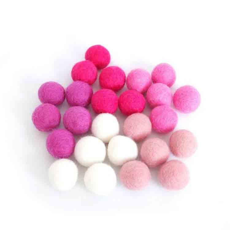 felt craft balls 1