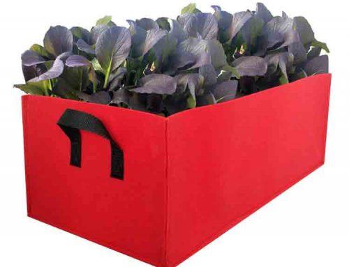 felt flower pots