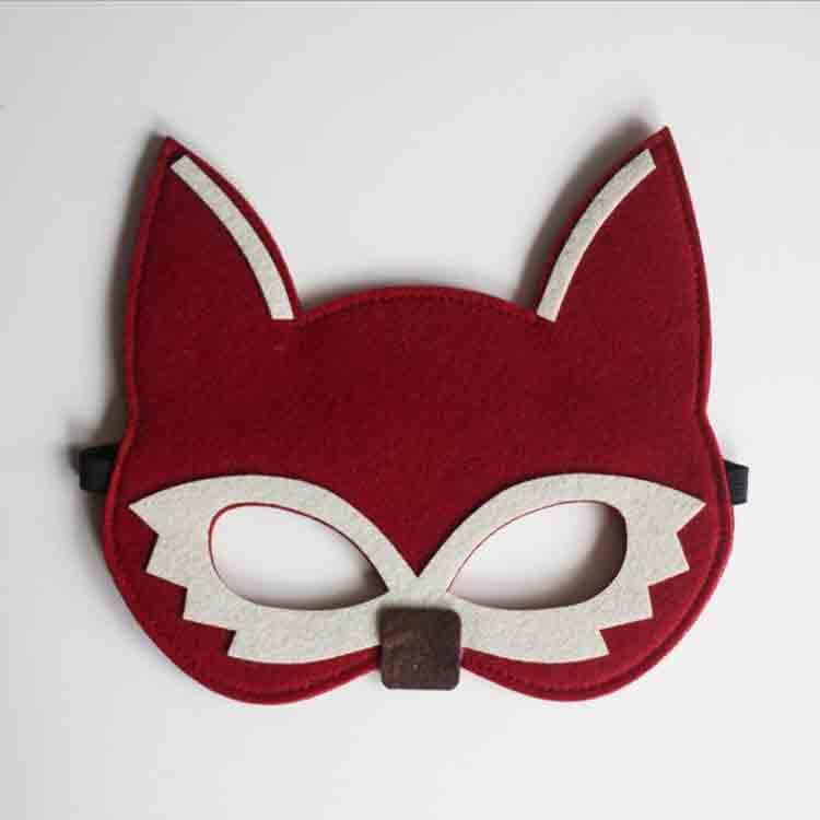 felt fox mask 4