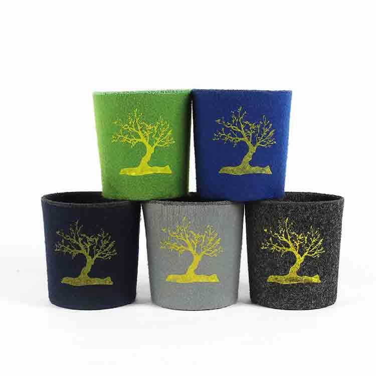 felt garden pots