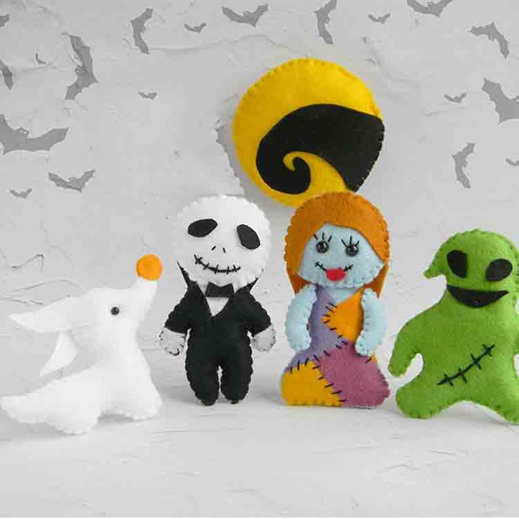 felt halloween decorations 1
