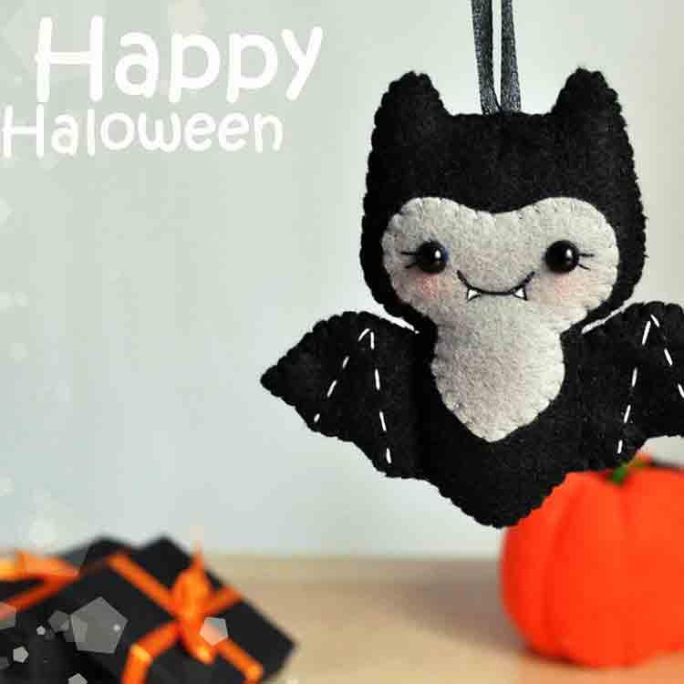 felt halloween decorations 3
